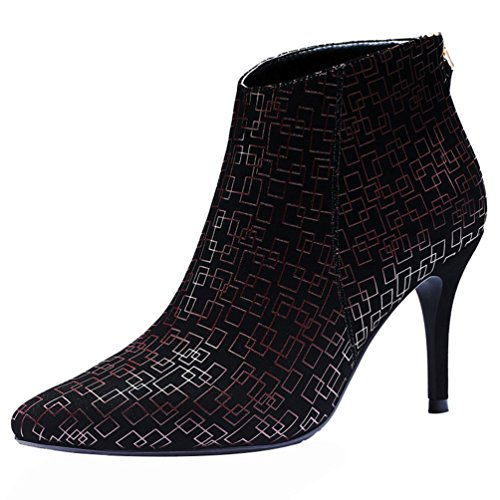 fq-real-women-fashion-pointed-toe-pu-square-pattern-zipper-thin-high-heel-party-pump-shoes45-uk-red