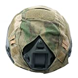 Combat extérieur Airsoft Paintball tactique militaire rapide Helmet Cover AT-FG