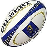Gilbert européenne Rugby Réplique des Champions de Football Boule-Blanc/Bleu/Doré, Taille 5