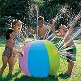AA-SS-Outdoor Water Play Sprinklers Sfera dello spruzzo d'Acqua, Pallone Gonfiabile all'aperto del Pallone da Bagno dello spruzzo d'Acqua per L'Estate Piscina del Partito Giocano i Bambini Kids-75cm