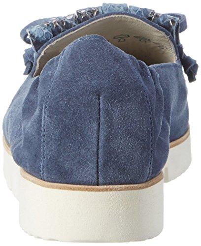 Kennel und Schmenger Schuhmanufaktur - Pia X 92640_671, Mocassini Donna Blu (jeans/jeans Sohle Weiss)