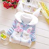 Clockeikan 3pcs / Set Neugeborene Kind-Baby-Cloud Print-Shirt Tops Hosen Hut Ouits Set