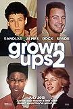 Adultes 2 Movie Poster Photo 8 x 10 impression limitée Adam Sandler Kevin James Chris Rock David pelle Shaq Taylor Lautner-Salma Hayek#3