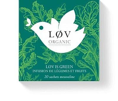 Løv Organic - Infusion Løv is Green - Boîte de 20 sachets
