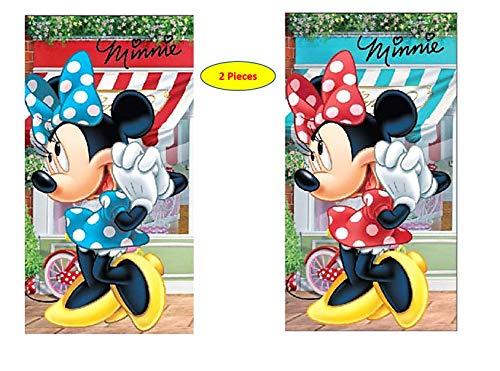 Minnie disney hm02-2 asciugamano/foulard per bambini, 35 x 65 cm