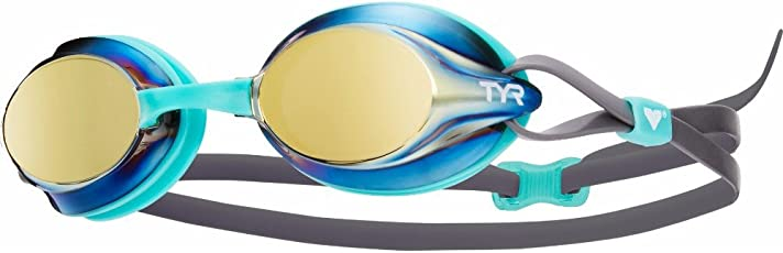 TYR Velocity Racing Mirrored Goggles