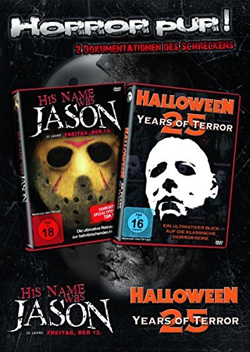 Michael Myers & Jason HALLOWEEN + FREITAG DER 13. -25 Years Of Terror 2 DVD Edition - DIE DOKUMENTATIONEN DES SCHRECKENS (Halloween 4 Michael Myers Film)