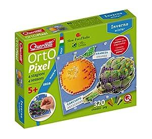 Quercetti 0838-Orto Pixel Invierno, plástico