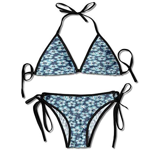 Band Leg Panty (KAKALINQ Custom Pattern Organic Cotton Underwear Bikini Panties Wide Band 2 for Women)