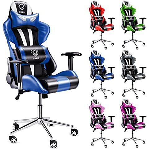 Diablo X-Eye Gaming Stuhl, Bürostuhl, Chefsessel, Gaming Chair, Schalensitz, Racer