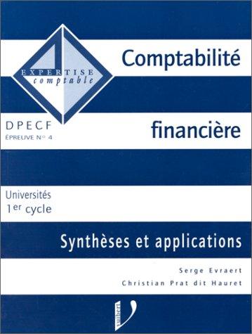 COMPTABILITE FINANCIERE. Synthèses et applications