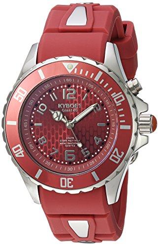 KYBOE Unisex-Adult Analog Quartz Watch with Silicone Strap FW.40-004.15