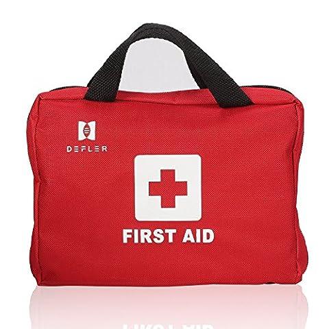 Erste-Hilfe-Kit Bag Über 100 Stück einschließlich Instant Cold (Ice) Packs