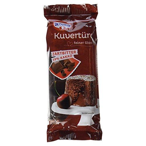 Dr. Oetker Kuvertüre Zartbitter 59 % Kakao, 150 g