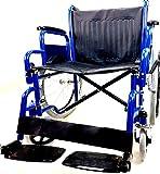 Progen Supreme De Qualite Portable Autopropulse Leger Voyage Pliable Chaise Fauteuil Roulant Transfert Aid