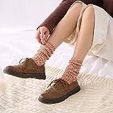Ausgezeichnetes Produkt Baumwolle Socken_Mori Frauen Serie Tube Socks ethnischen Stil Retro weiblichen Baumwolle 10 Paare, orange