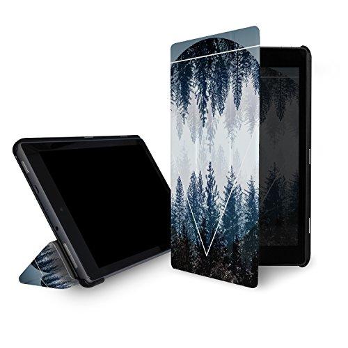 Generation 4. Kindle Amazon Hülle (caseable leichte Hülle für das neue Fire HD 10-Tablet (7. Generation – 2017 Modell), Woods 4 (mit Standfunktion und Auto Schlaf/Wach Funktion))