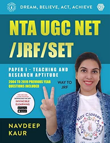 NTA UGC NET /JRF /SET PAPER I-TEACHING AND RESEARCH APTITUDE WAY TO JRF