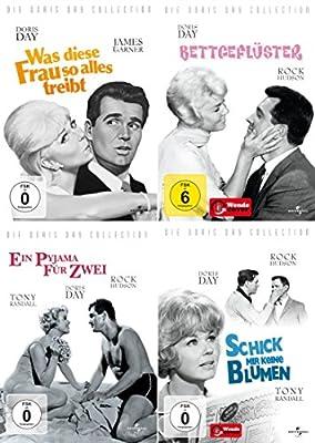 Doris Day Collection: Was diese Frau so alles treibt / Bettgeflüster / Ein Pyjama für zwei / Schick mir keine Blumen [4 DVDs]