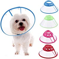 Zaote Comfy Cone for Pet Dog Doggy Puppy Cat Medium