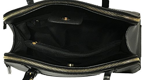 Kukubird Fallon Classico In Ecopelle Con Fibbia Cinturino Dettaglio Top-manico Spalla Tote Handbag Pink