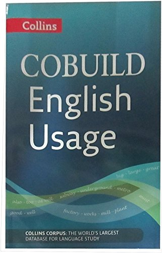 English Usage: B1-C2 (Collins COBUILD Grammar)