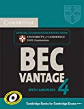 Cambridge BEC Vantage 4: Students book with answers