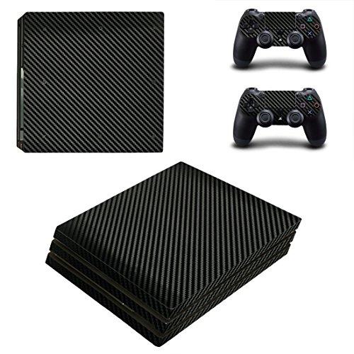 PS4 Pro skin fibra di carbonio