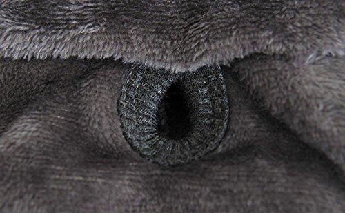 PAWZ Road Halloween Verkleidung Cosplay Kostüme Allerheiligen Weihnachten Pullover Pulli Weste Hoodie Wintermantel für Hund und Katze Grau M - 6