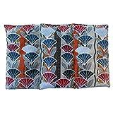 """Cuscino termico """"ABANICO"""" - 26 x 16 cm (M / L) - pieno di noccioli di ciliegia 330gr - effetto freddo/caldo . saco termiche"""