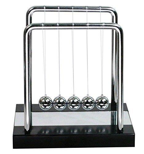 (HOMMY Newtons Wiege Newtons Cradle Balance Ball Wissenschaft Puzzle Schreibtisch Spielzeug Mittel Spiegel)