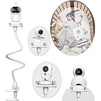 Soporte para Vigilabebes Universal | Soporte para Cámara Monitor de Bebé Ajustable sin Perforación | Compatible con la Mayoría de Monitores de Bebé