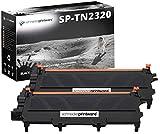 2 Schneider Printware Toner | je 6.000 Seiten | ersetzt TN-2320 für Brother Multifunktionsdrucker , Laserdrucker | kompatibel | Farbe: Schwarz passend für : Brother DCP-L2500D , DCP-L2520DW , DCP-L2540DN , HL-L2300D , HL-L2340DW , HL-L2360DN , ,