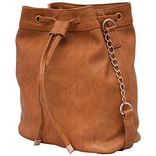 Lychee Bags Women's Sling Bag (Beige,Lbhbpu42Bg)
