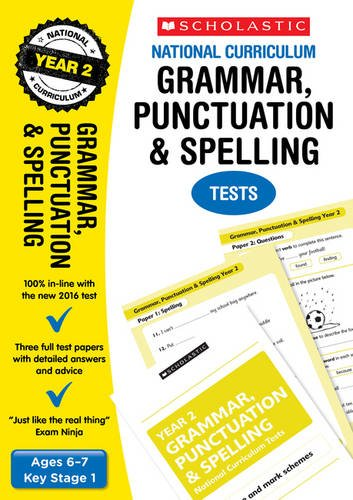 Grammar, Punctuation and Spelling Test - Year 2 (National Curriculum SATs Tests)