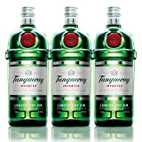 Tanqueray London Dry Gin Imported, 3er, Alkohol, Alkoholgetränk, Flasche, 47.3%, 1 L, 704013