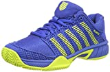 K-Swiss Performance Unisex-Kinder Hypercourt Express HB Tennisschuhe, Blau (Strong Blue/Neon Citron 48), 34 EU