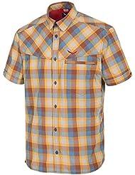 Salewa Fanes Hike Dry M S/S Srt - Camisa de manga corta para hombre, color morado, talla XS