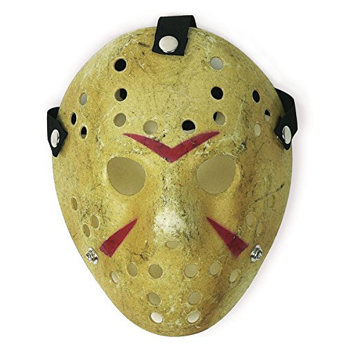 SN001 COSTUME PROP HORROR HOCKEY MASK JASON VS. FREDDY FRIDAY THE 13TH HALLOWEEN (Kostüm Friday 13th Party The)