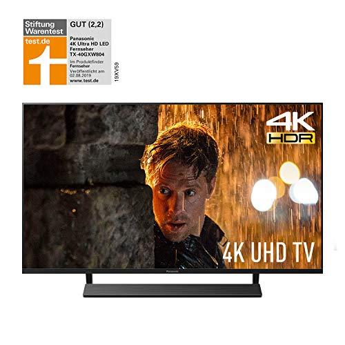 Panasonic TX-40GXW804 LED Fernseher 4K (Ultra HD, Smart TV 40 Zoll/100 cm, Alexa Sprachsteuerung, Quattro Tuner, HDMI)