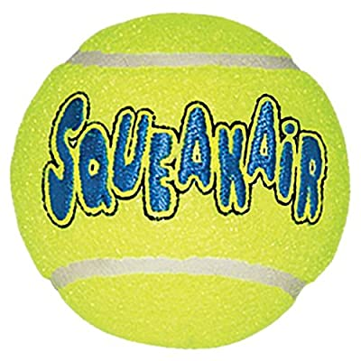 KONG AirDog Squeaker Tennis Ball from Kong