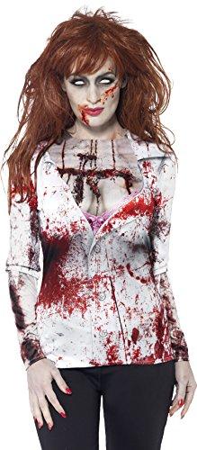 e Kostüm, T-Shirt mit Sublimationsdruck, Größe: M, 44372 (Evil Dead Halloween-kostüm)