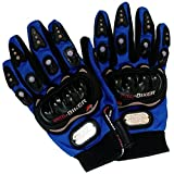 #4: P-Biker Motorcycle Riding Gloves Blue Colour Biking & Racing M