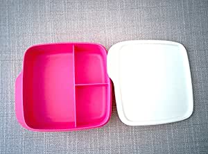 tupperware bo te sandwich tanche 3 sp cialiste divis en 3 parties 550ml s par s sandwich. Black Bedroom Furniture Sets. Home Design Ideas