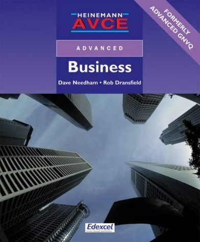 Heinemann AVCE Advanced Business by Mr Rob Dransfield (2000-09-19)