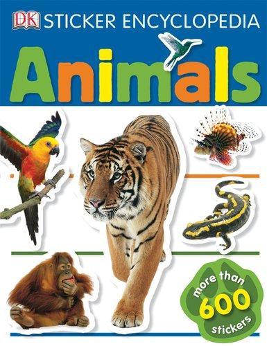 Sticker Encyclopedia: Animals (DK Sticker Encyclopedias)