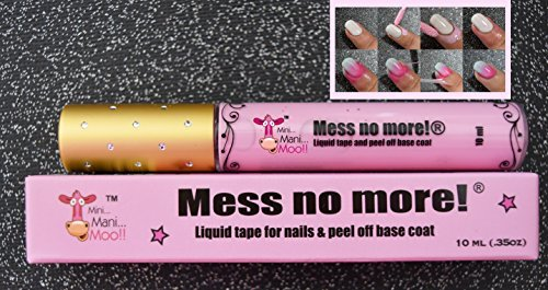 Mess No More! Liquid Tape for Pretty Nails 10 ml(.35 oz)