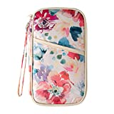Best Passport Holders - Comfysail Mulit-Purpose Flower Print Travel Wallet Passport Holder Review