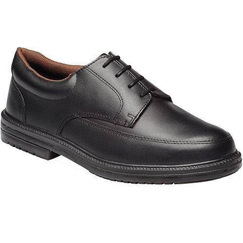 Dickies - Chaussures À Bout En Fer, Pour Homme, Pour Travail Noir