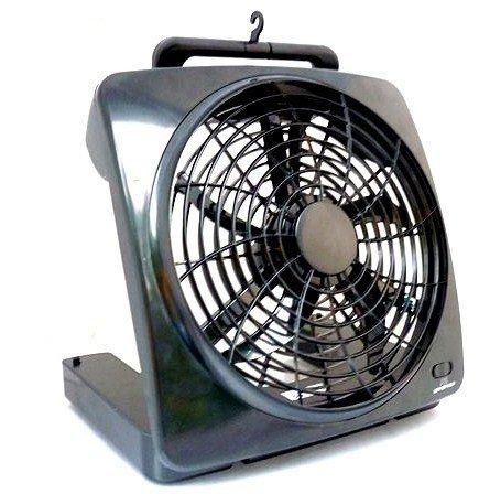 Ventilator Air-Cooler Schwarz Stand-Ventilator 12W Kühler Raum-Lüfter Luft-Erfrischer Lüftung Turm-Ventilator Venti Raum-Zirkulation Tisch-Ventilator (Tragbare Standventilatoren)